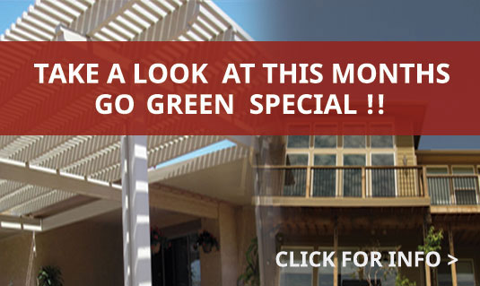 Take a look at this Month's GoGreen Special